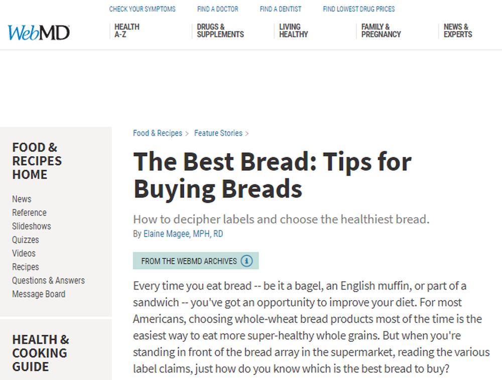 The Best Bread - Tips For Buying Breads
