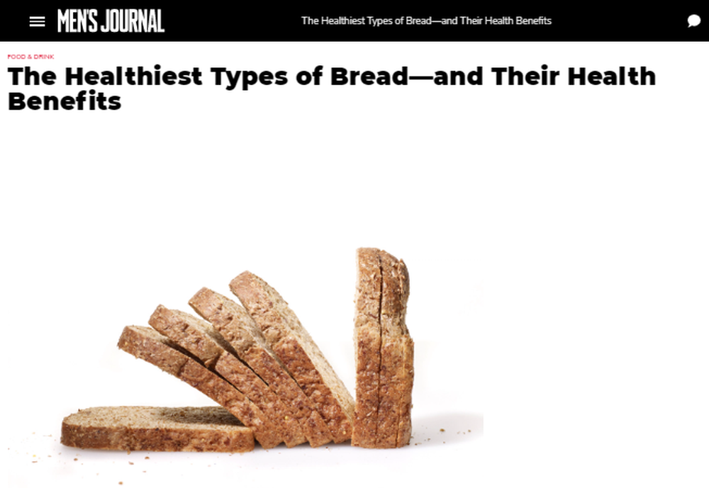 The Healthiest Types Of Bread - And Their Health Benefits