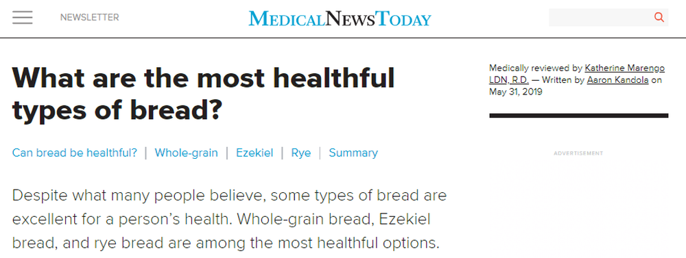 What Are The Most Healthful Types Of Bread